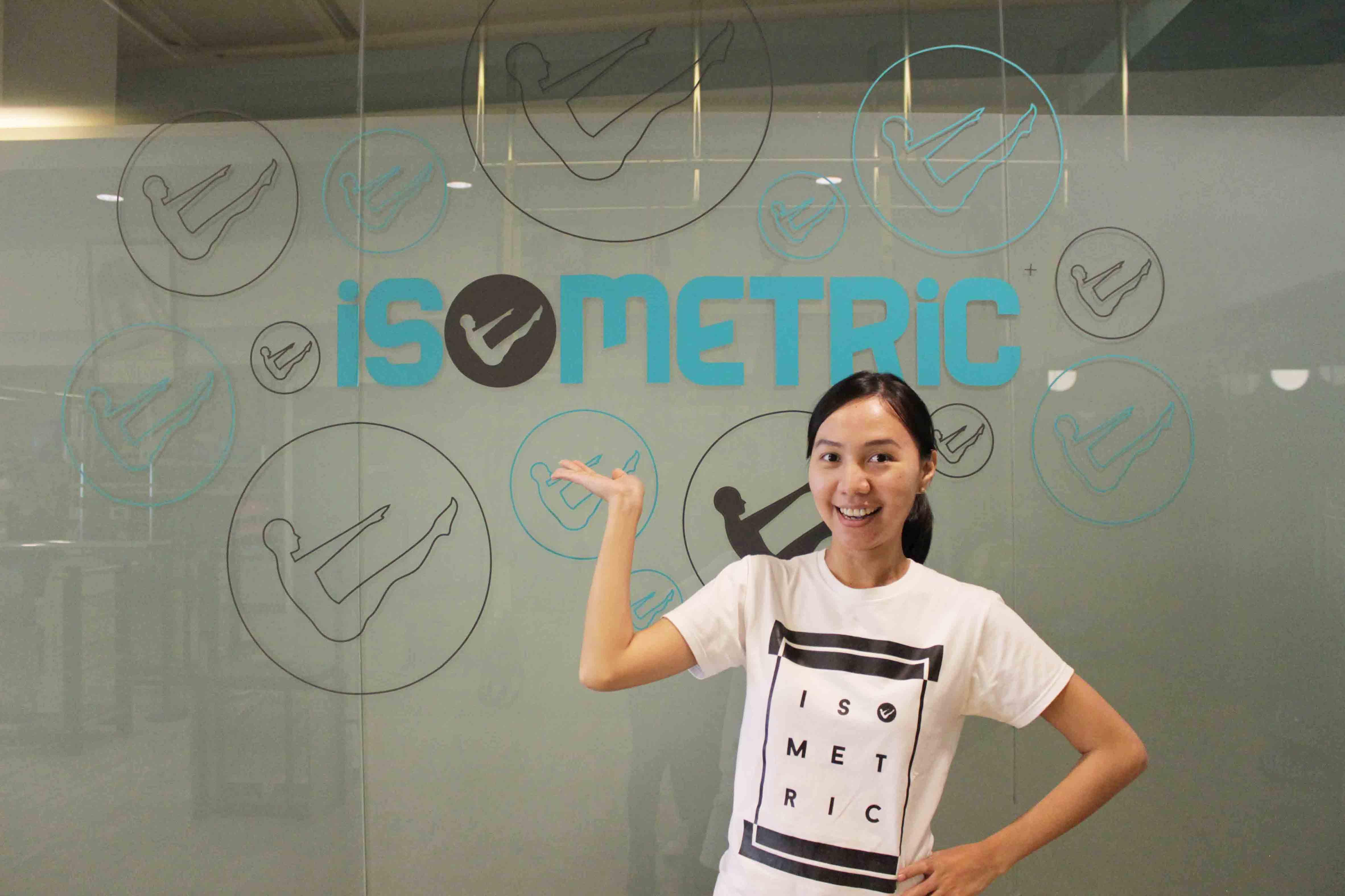 Witri Okta, Instruktur STOTT Pilates di iSometric Pilates Studio Jakarta