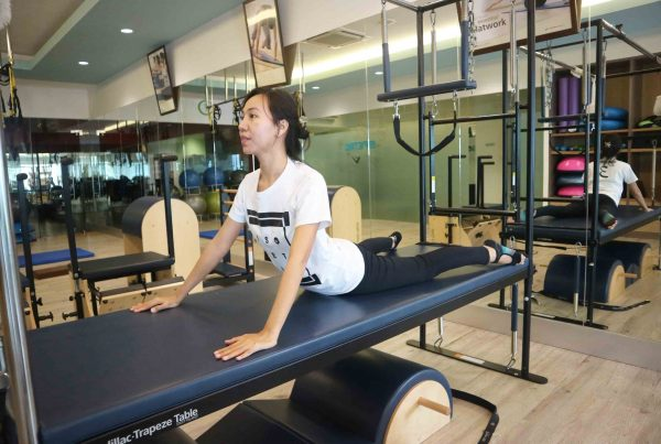 healthy back through pilates