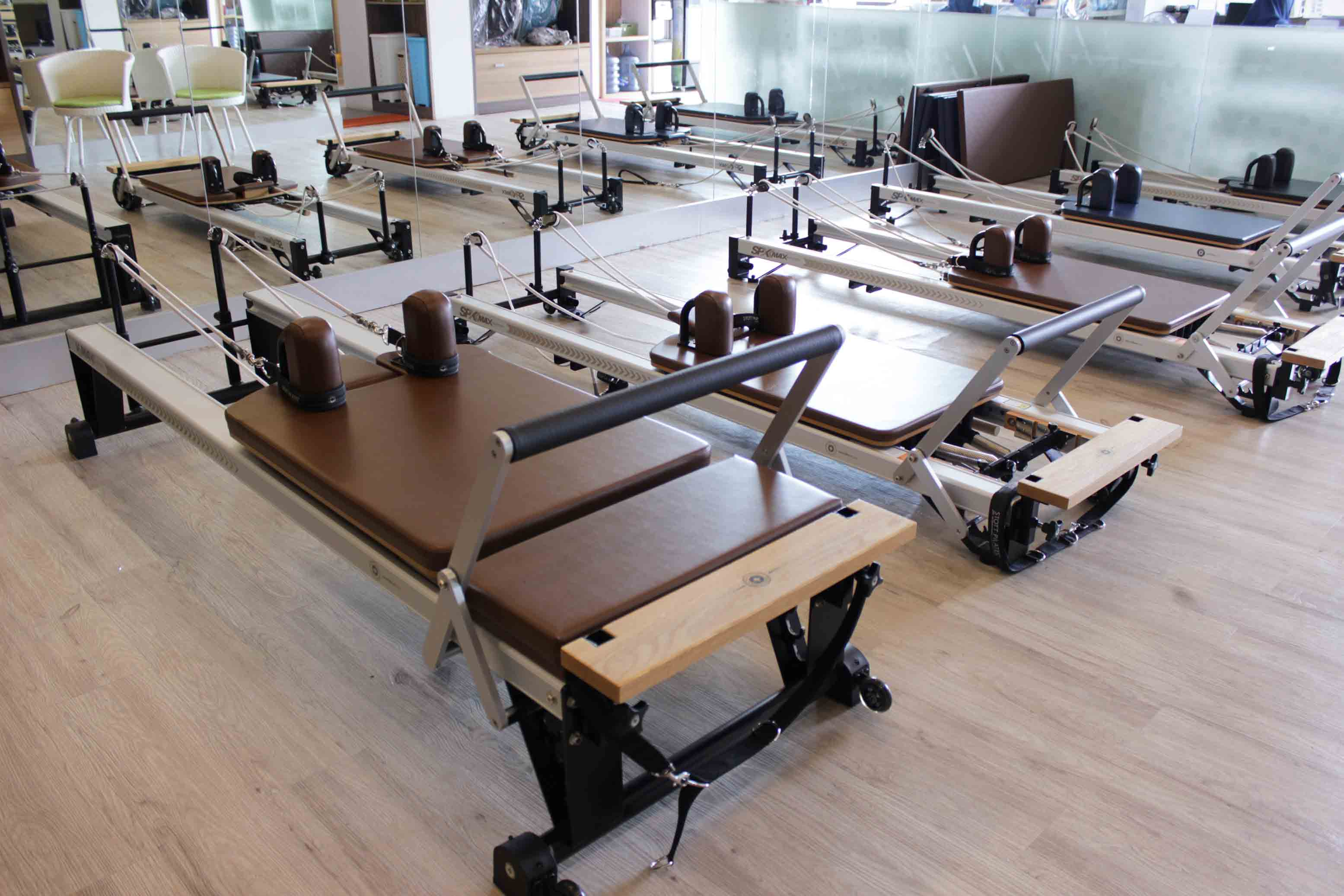 Pilates Reformer Exercise Equipment