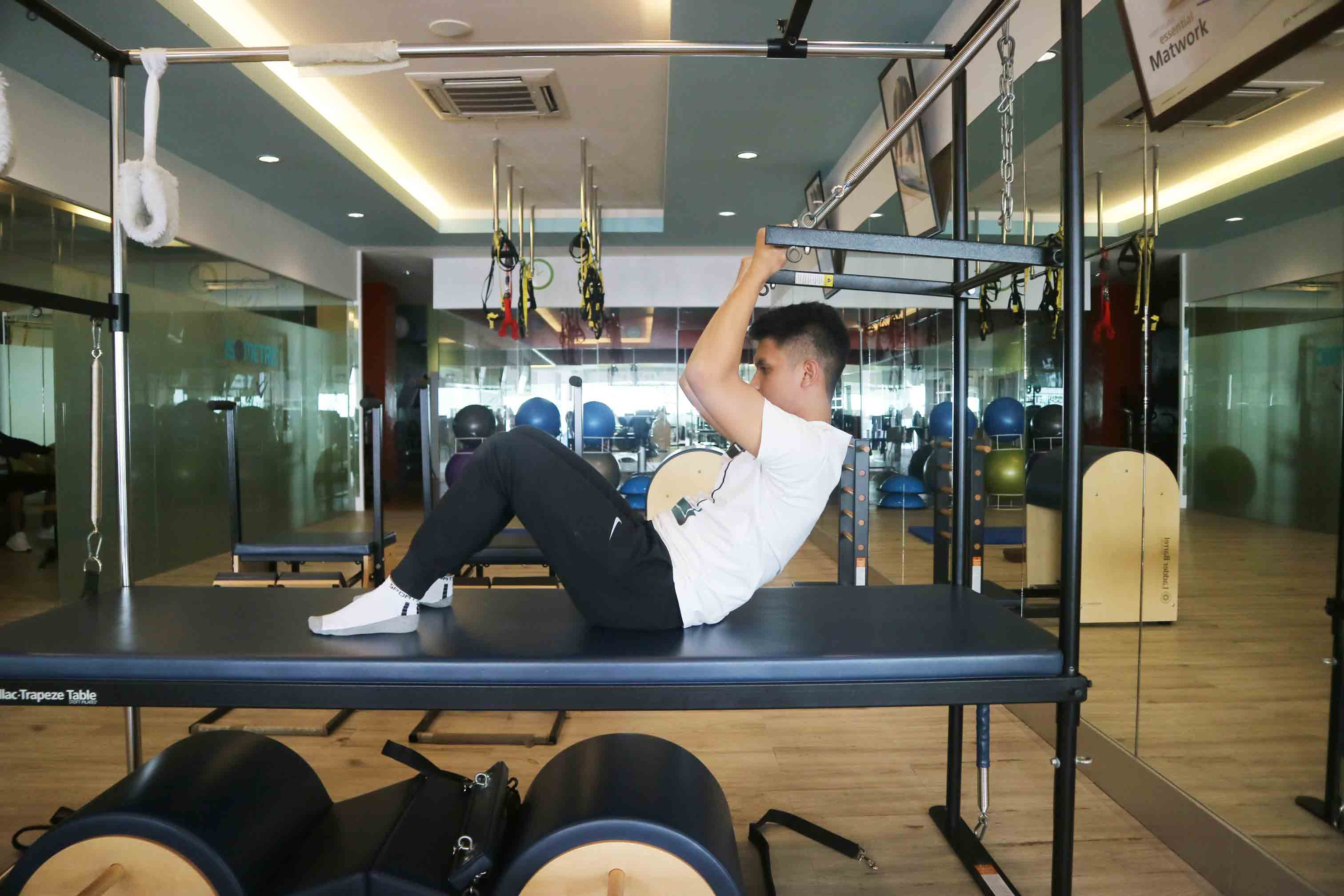 cadillac pilates equipment