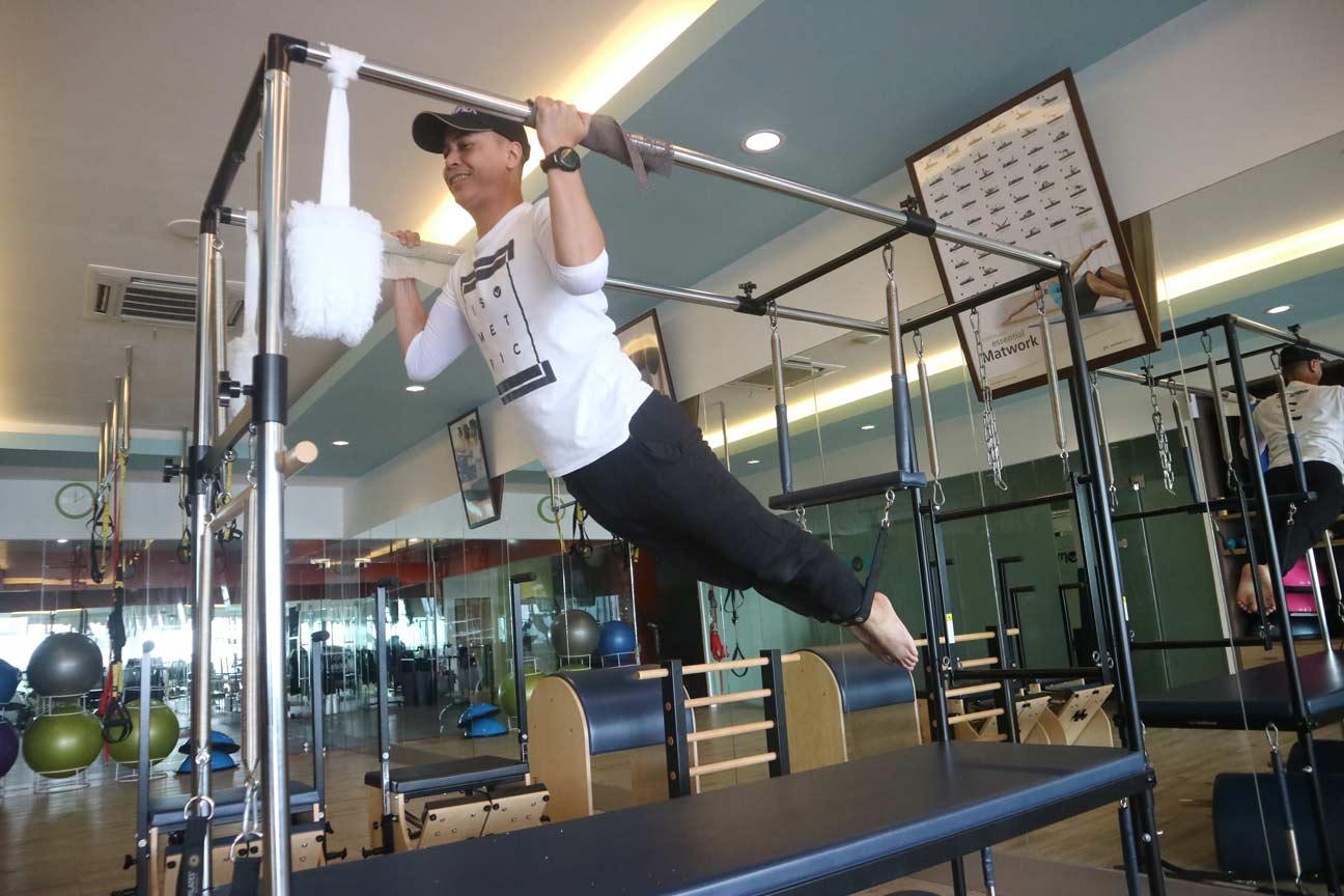 STOTT pilates instructor
