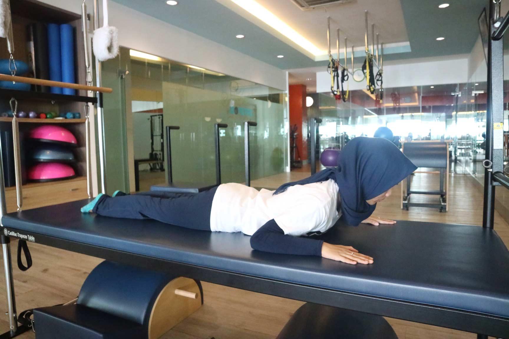 instruktur stott pilates