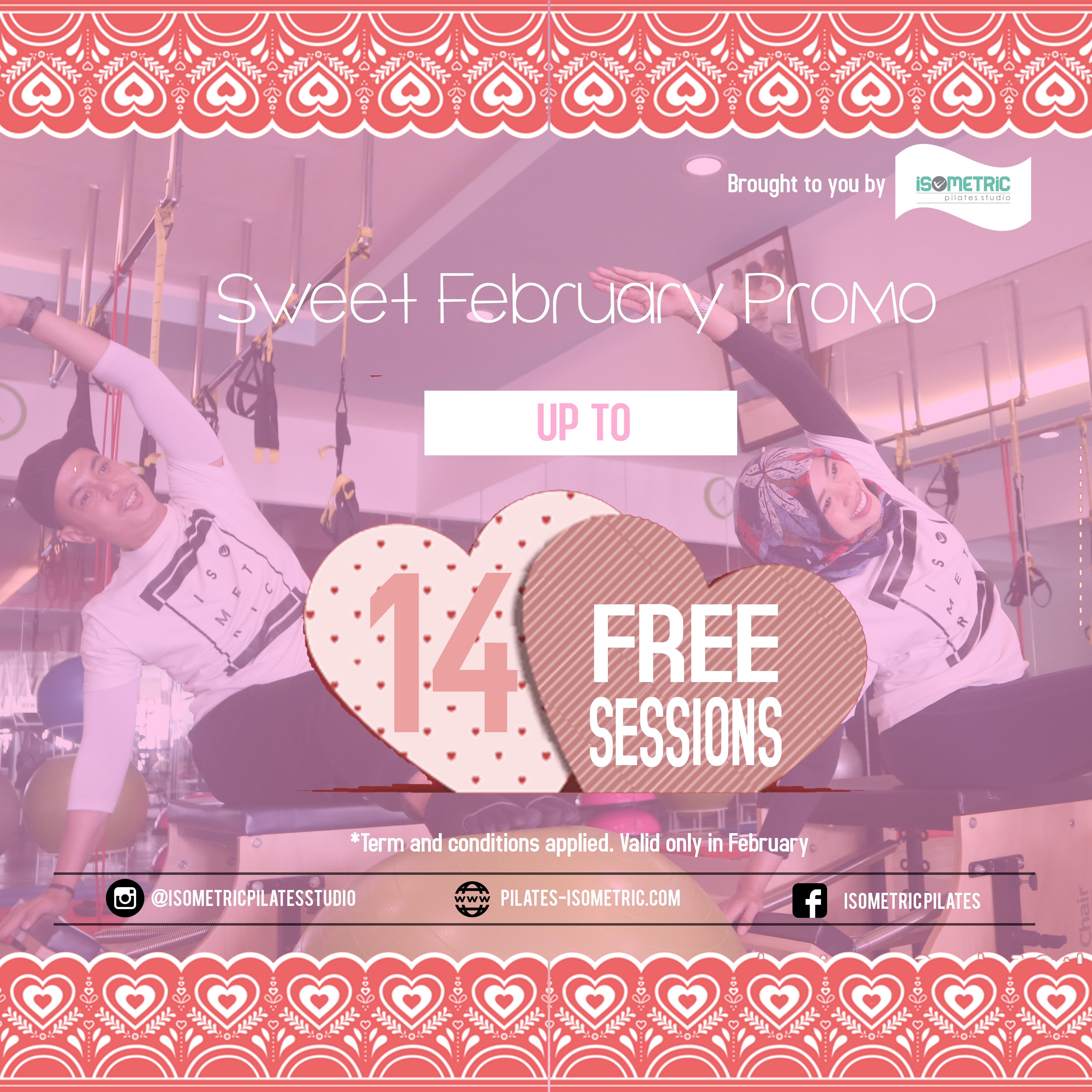 Pilates Sweet February Promo