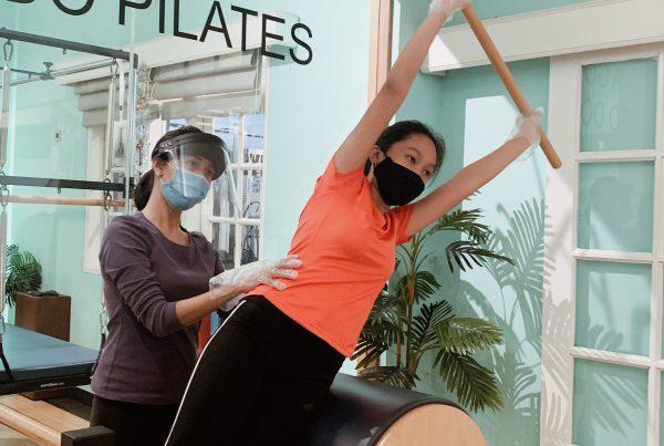 Pilates meningkatkan kekuatan otot inti